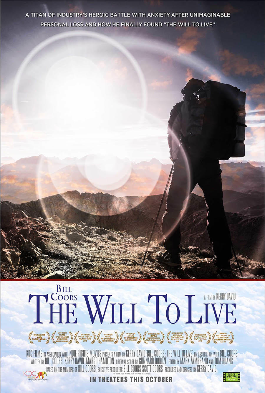 Bill Coors: The Will to Live poster art