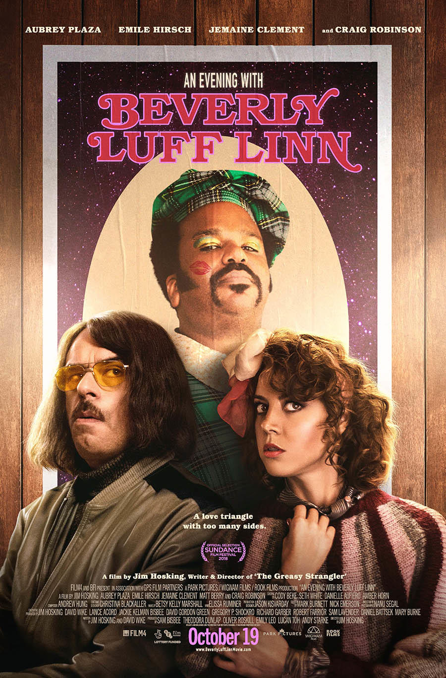 An Evening with Beverly Luff Linn poster art
