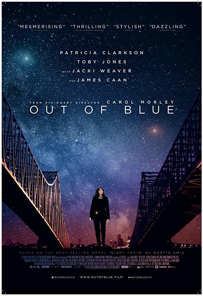 Out Of Blue poster art
