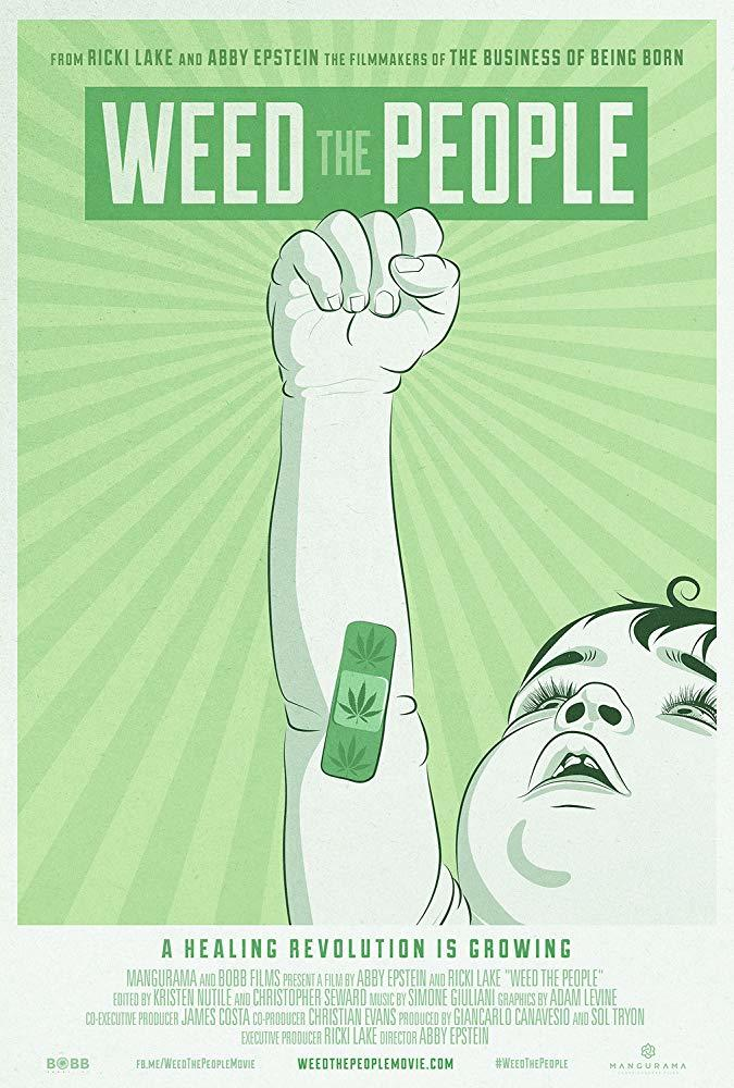 Weed The People poster art