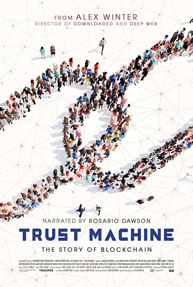 Trust Machine: The Story of Blockchain poster art
