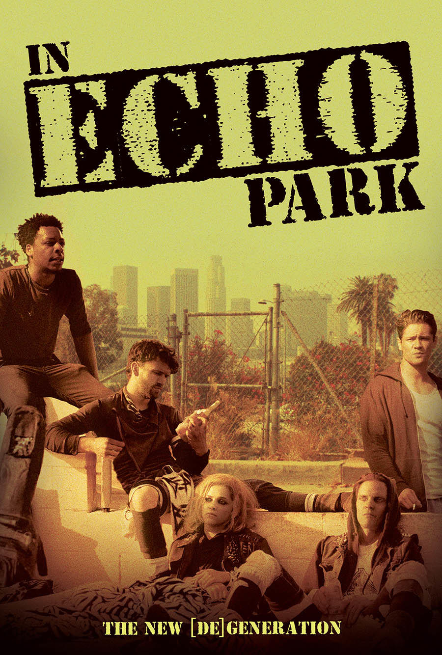 In Echo Park poster art