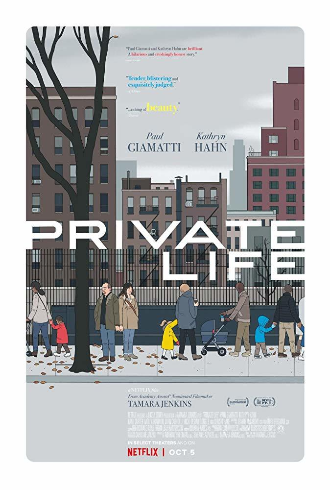 Private Life poster art