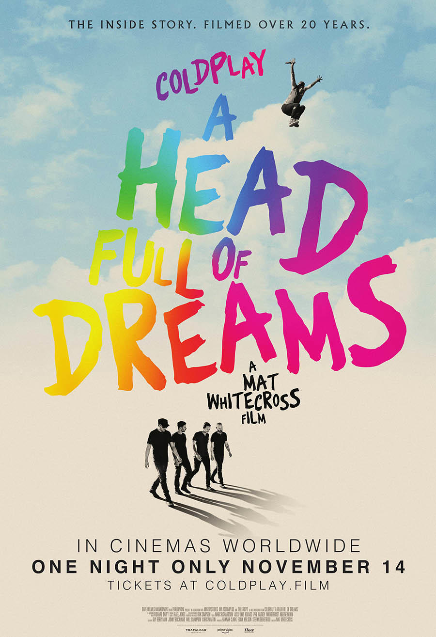 Coldplay: A Head Full of Dreams poster art