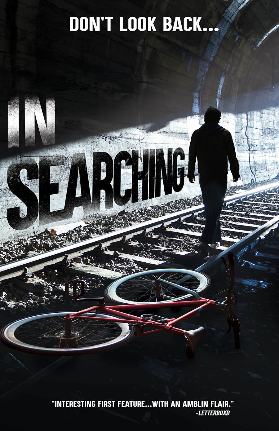 In Searching poster art