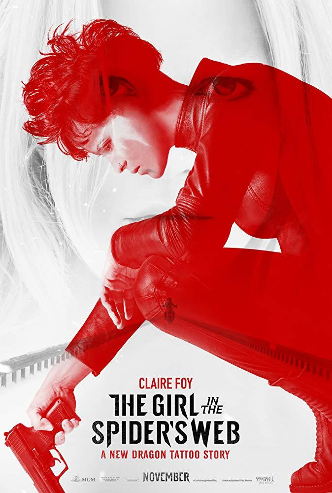 The Girl in the Spider's Web poster art