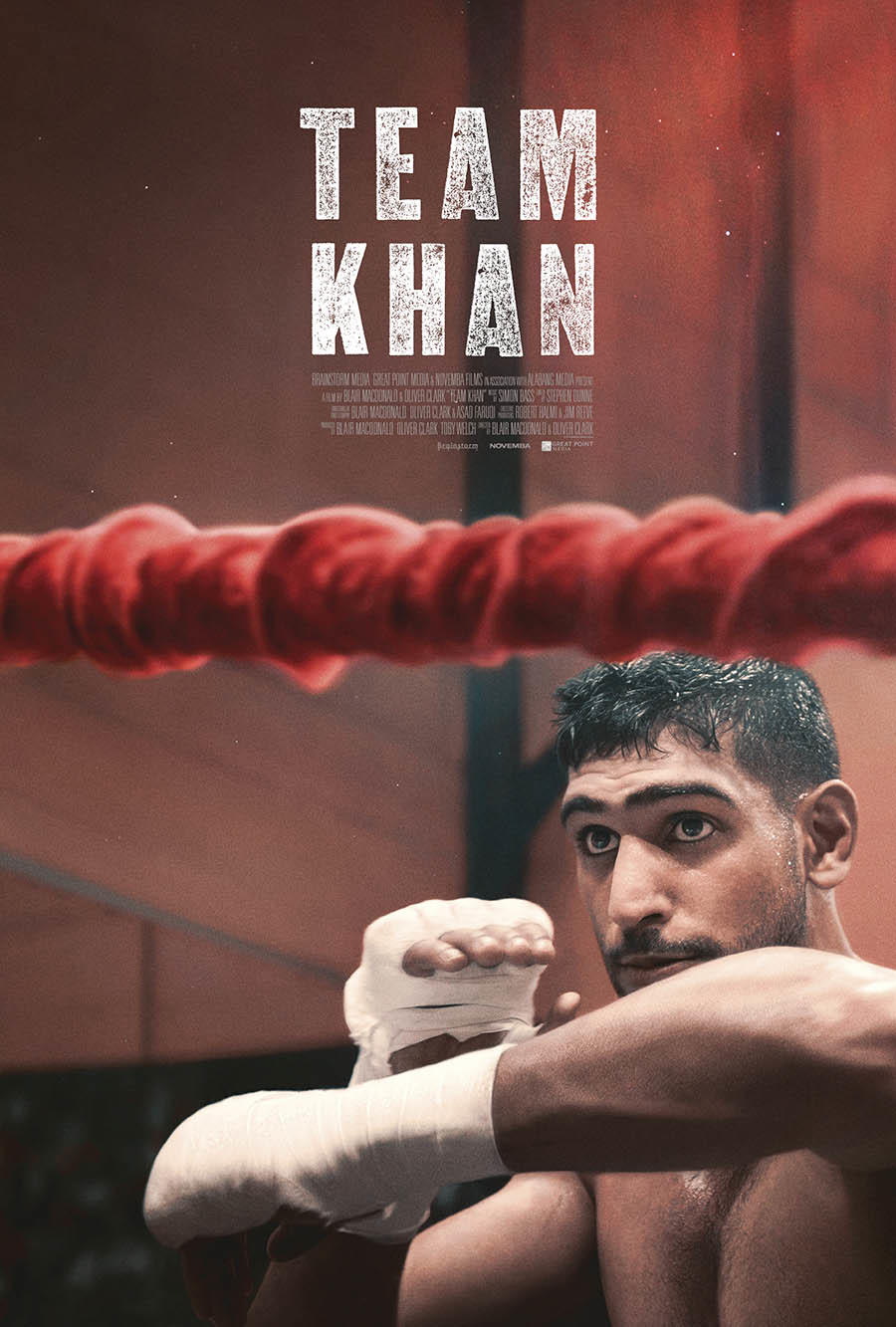 Team Khan poster art