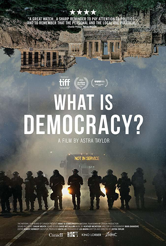 What Is Democracy poster art