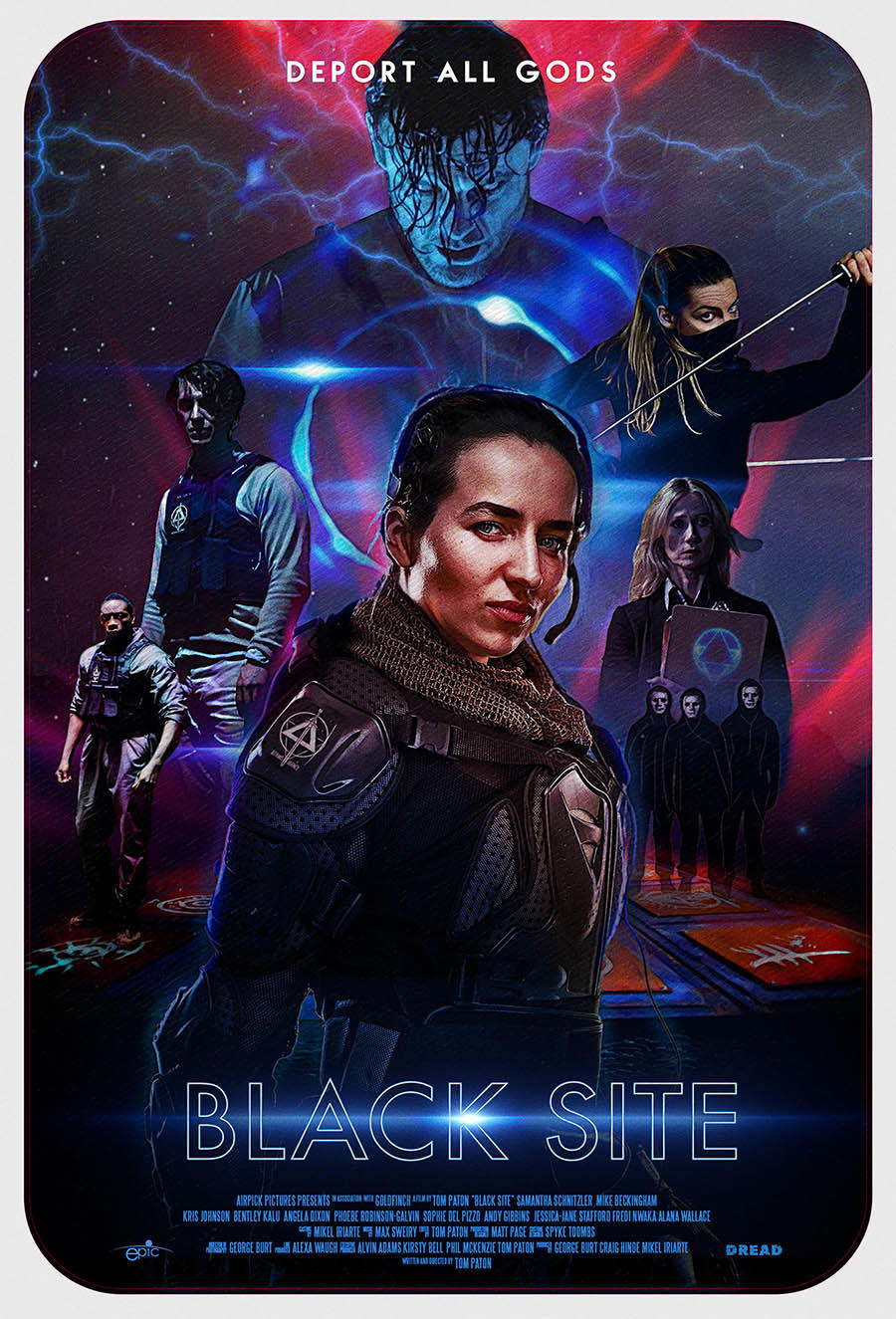 Black Site poster art
