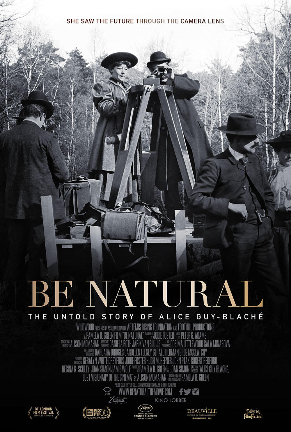 Be Natural: The Untold Story of Alice Guy-Blache poster art