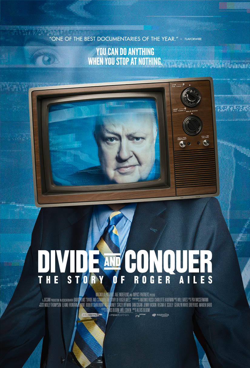 Divide and Conquer: The Story of Roger Ailes poster art