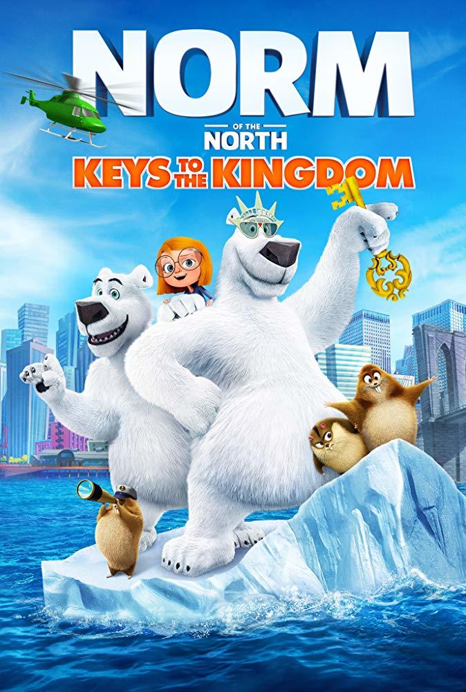 Norm of the North: Keys to the Kingdom poster art