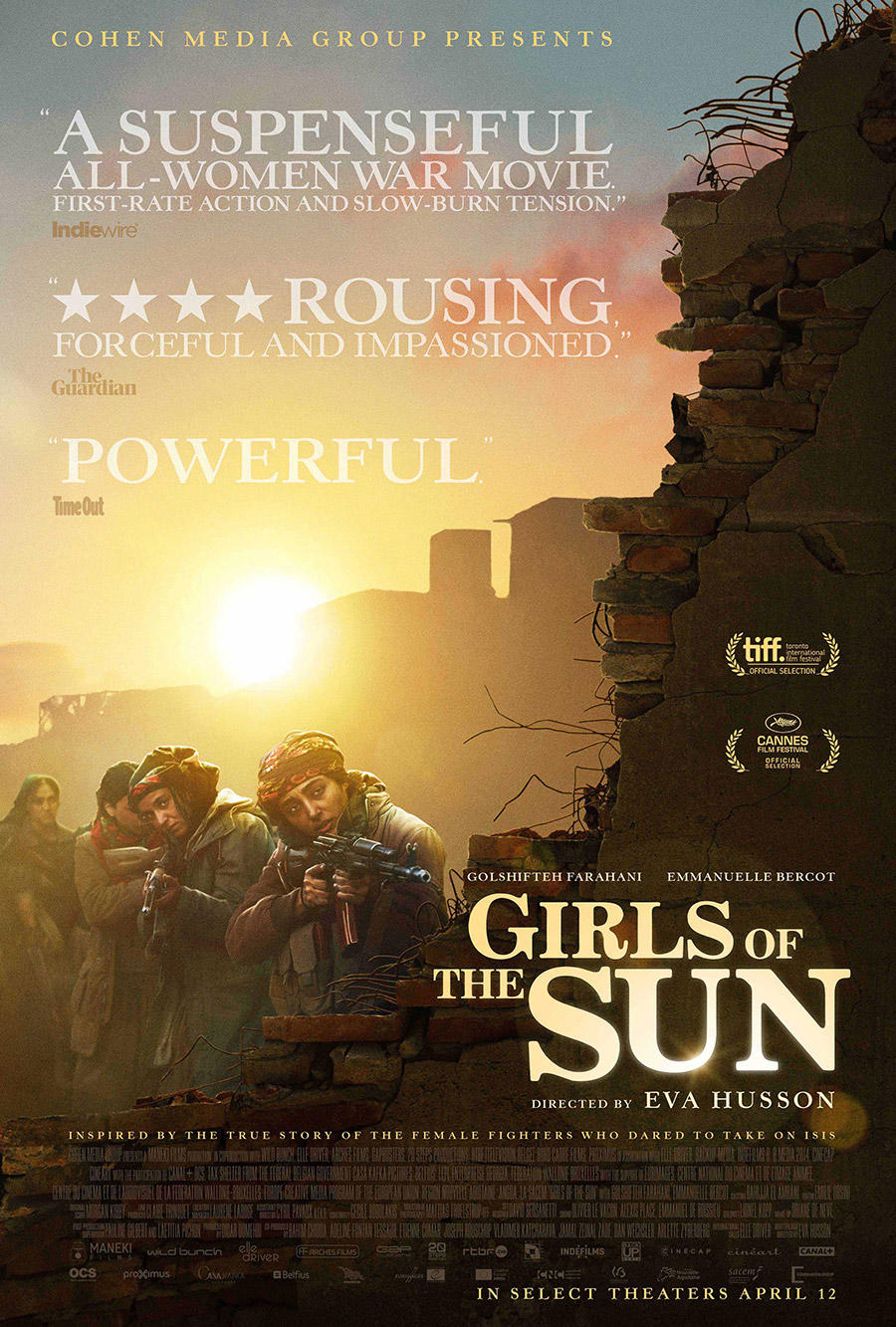 Girls of the Sun poster art