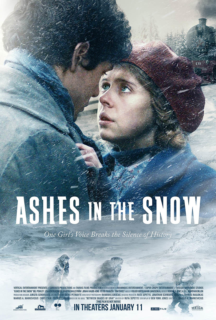 Ashes in the Snow poster art