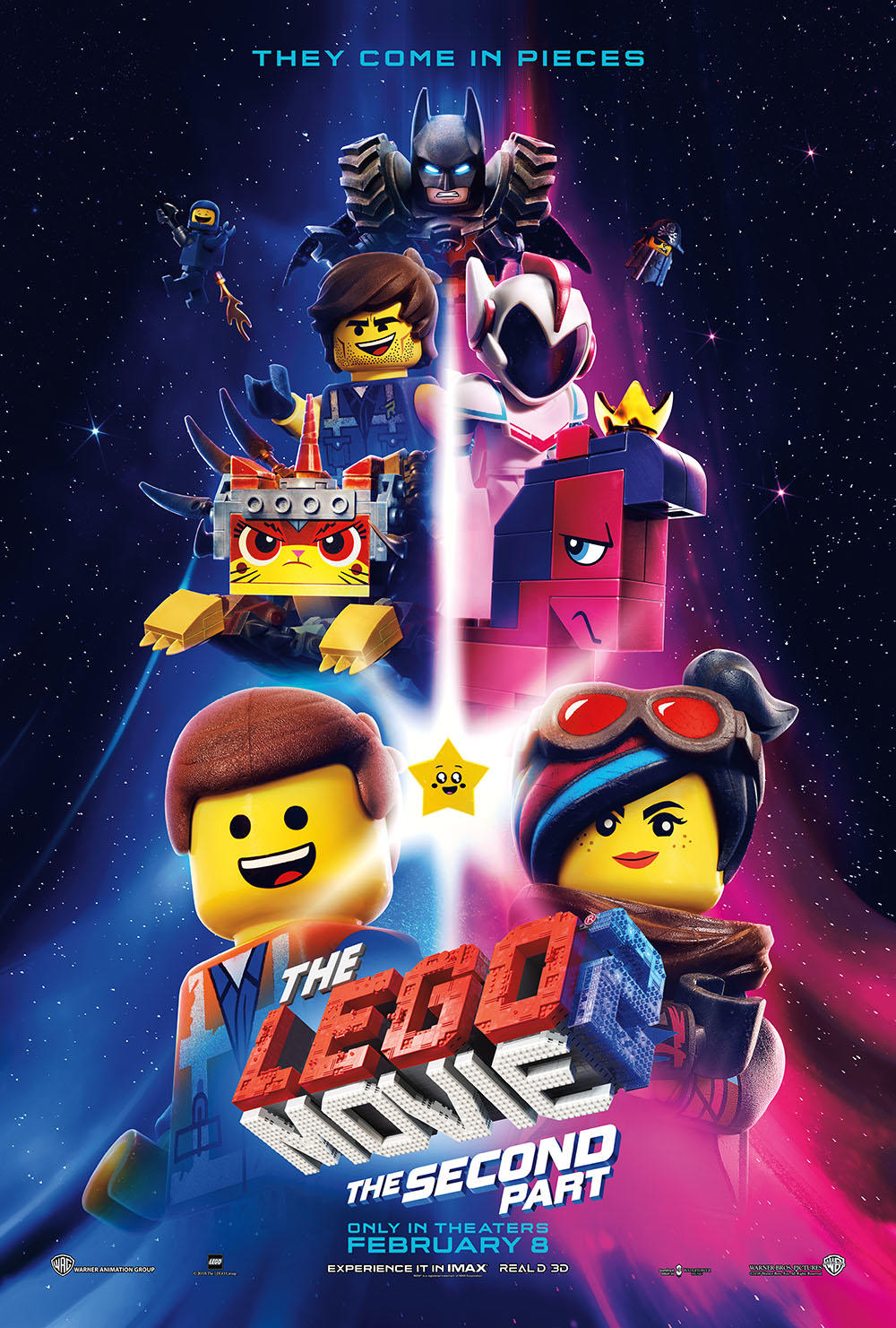 The Lego Movie 2: The Second Part Early Access Screenings poster art