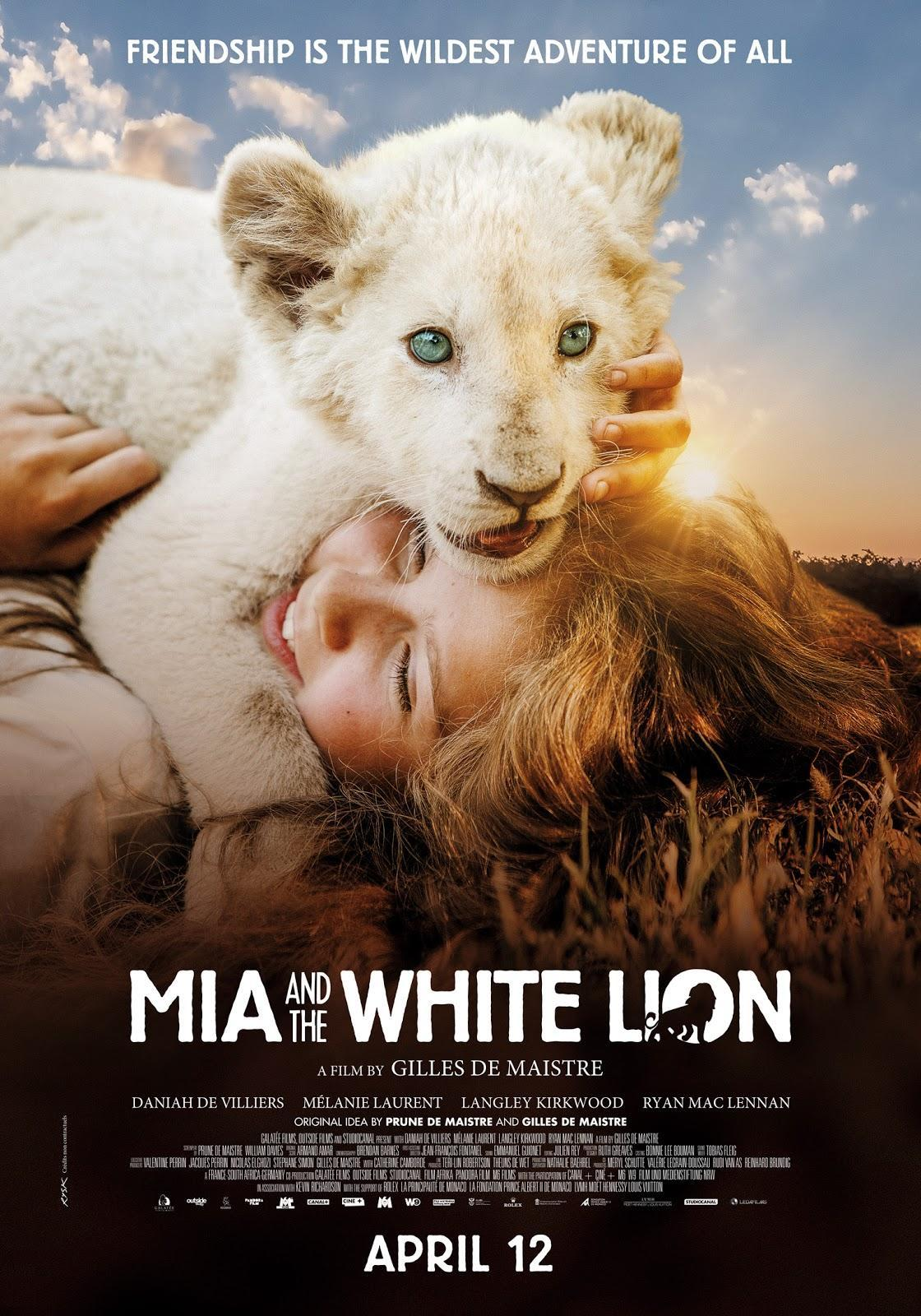 Mia and the White Lion poster art