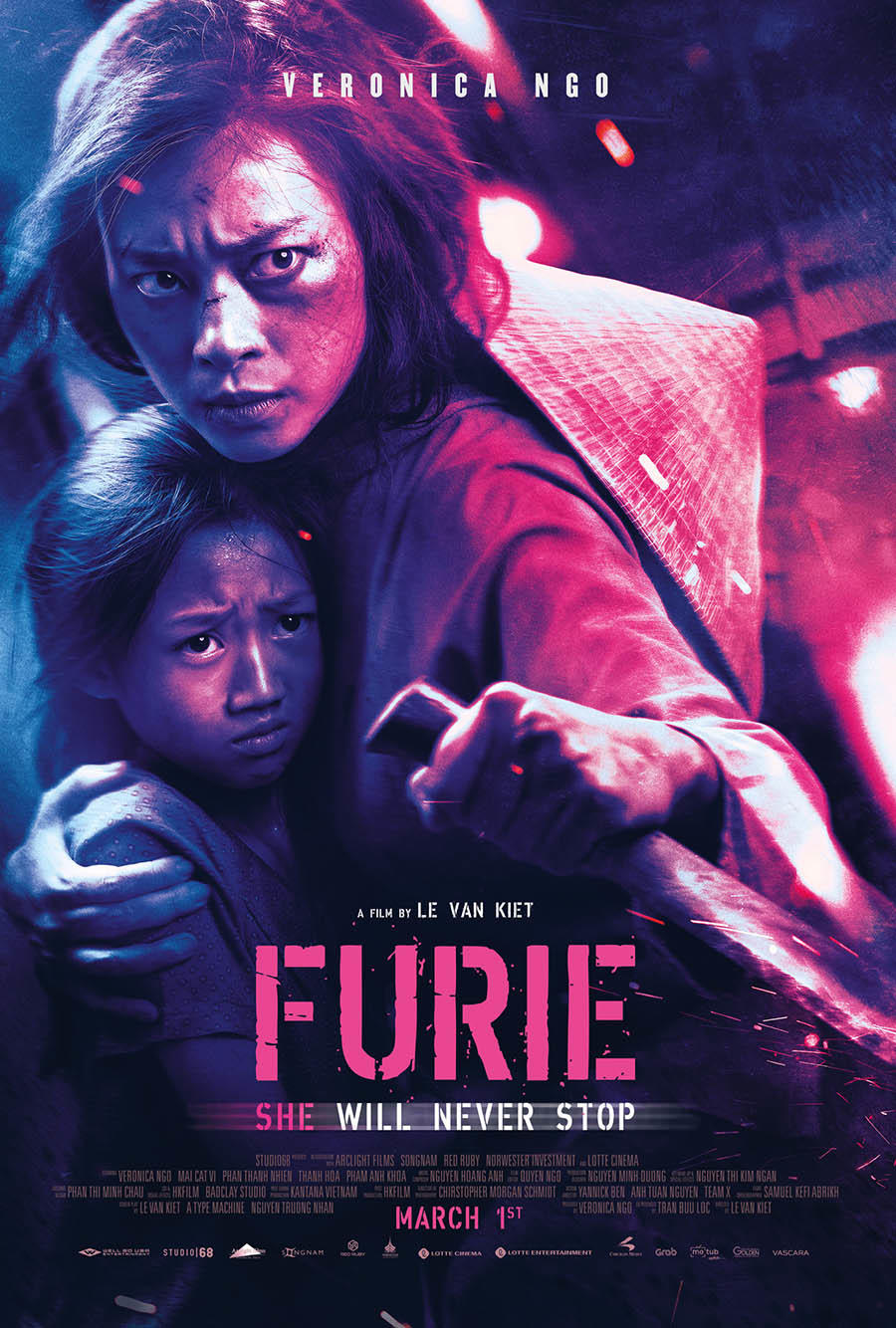 Furie poster art