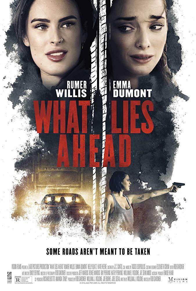 What Lies Ahead poster art