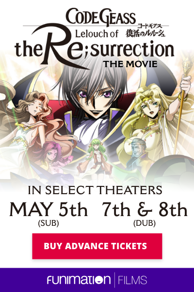 Code Geass: Lelouch of the Re;surrection poster art