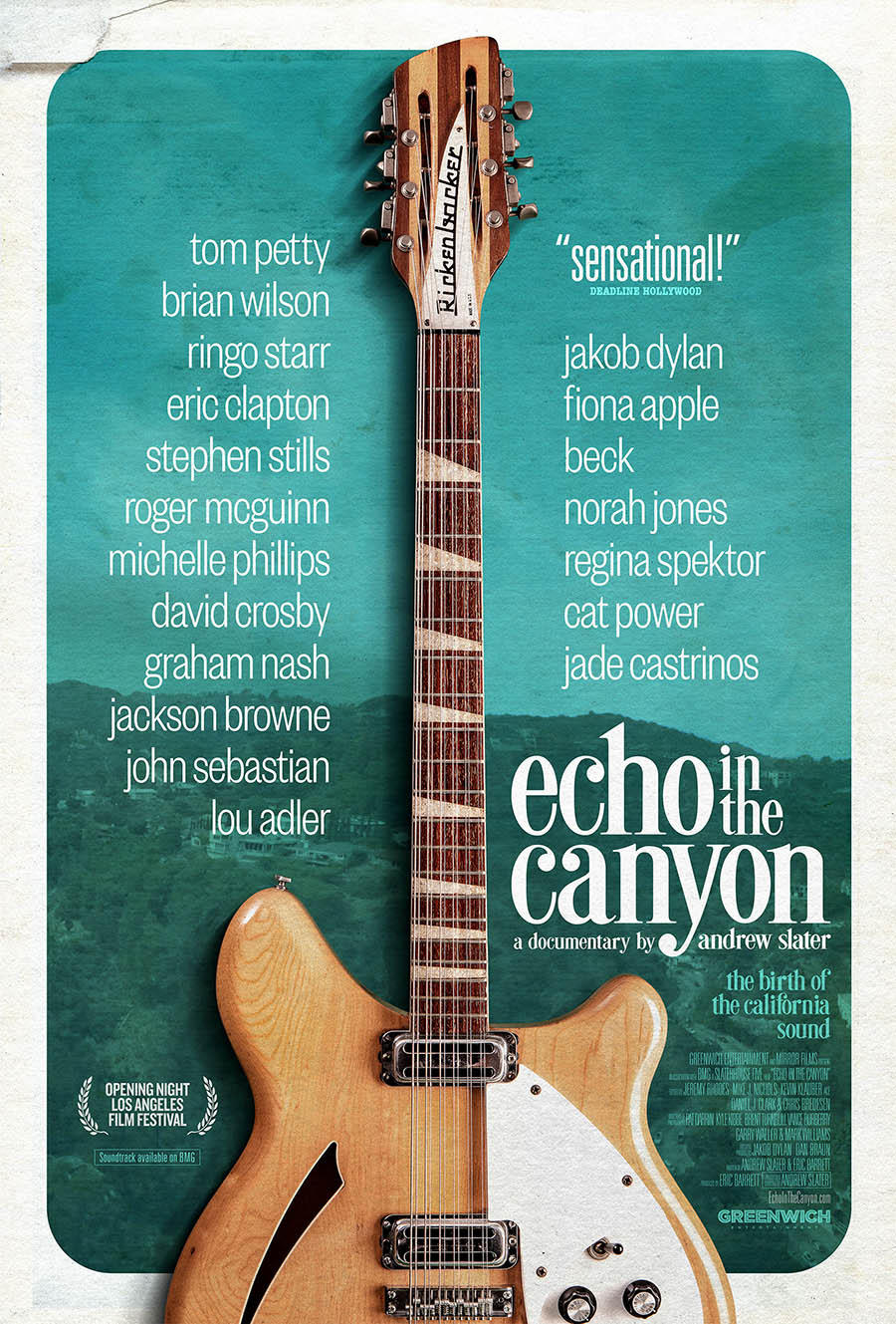 Echo in the Canyon poster art