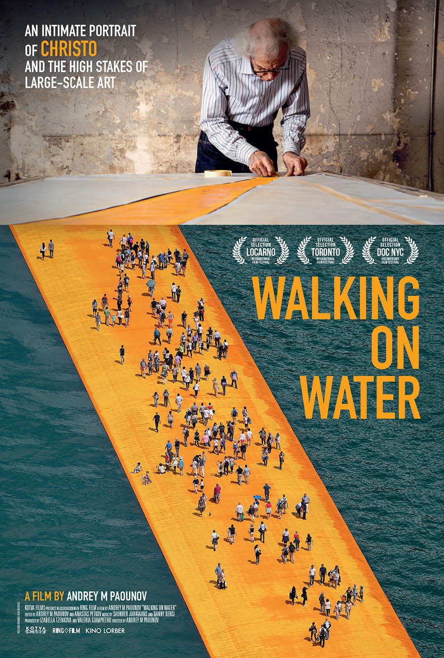Walking on Water (2019) poster art
