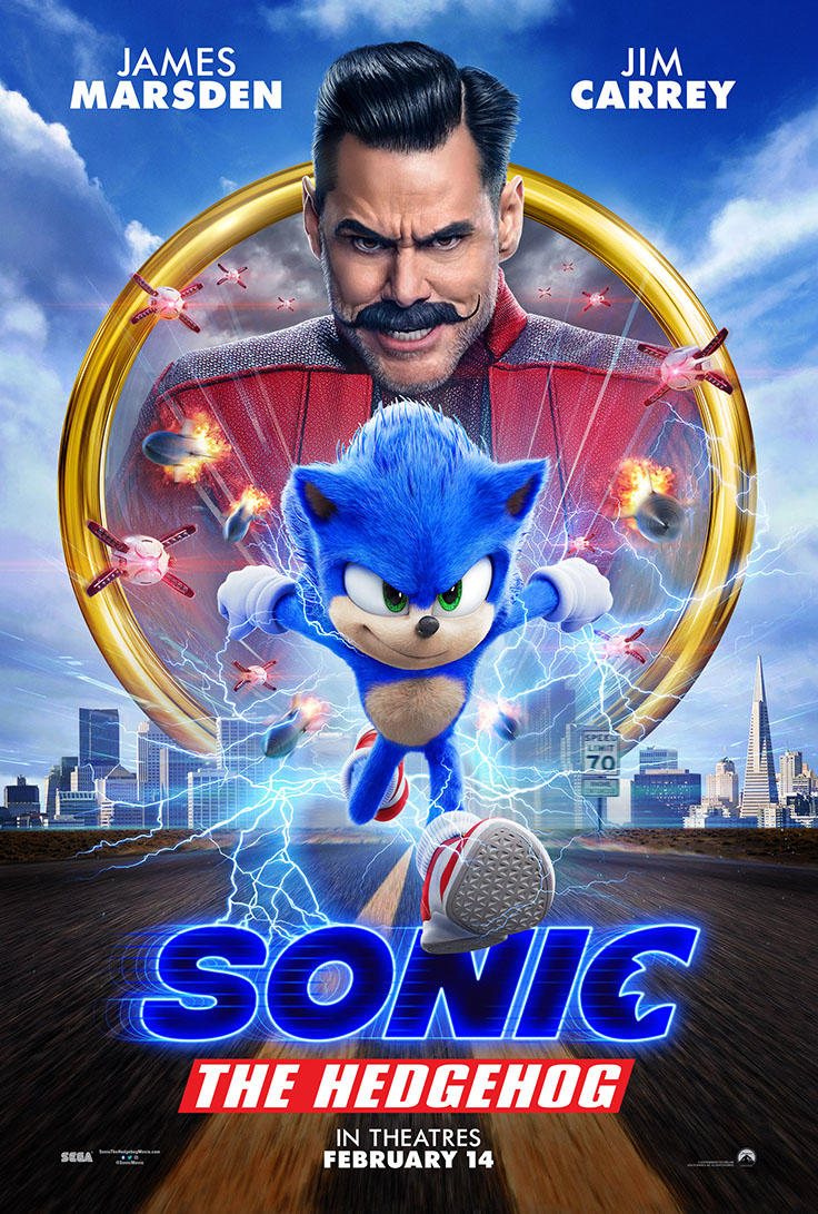 Sonic The Hedgehog poster art