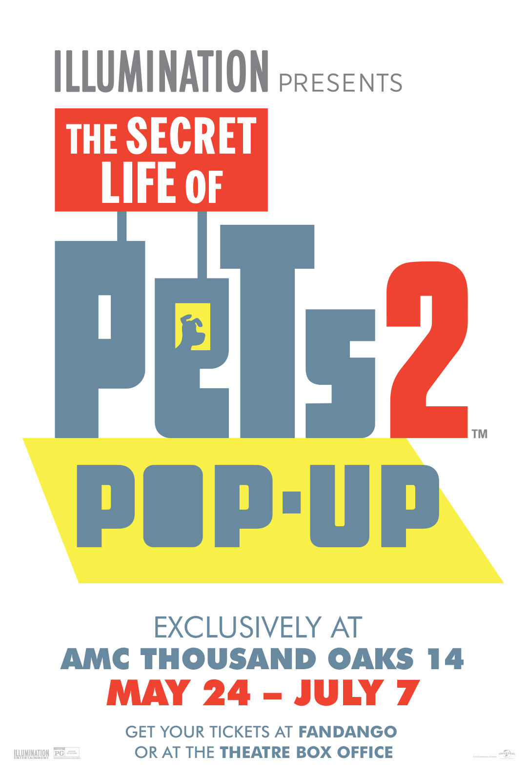 The Secret Life Of Pets Pop-Up poster art