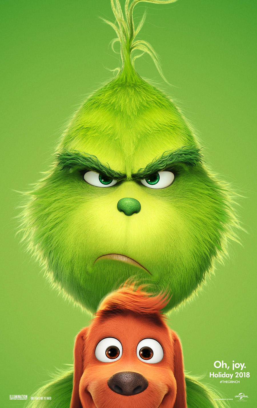 The Grinch poster art