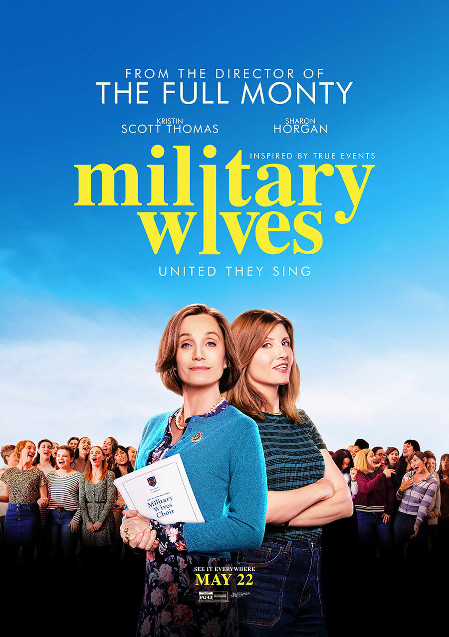 Military Wives poster art