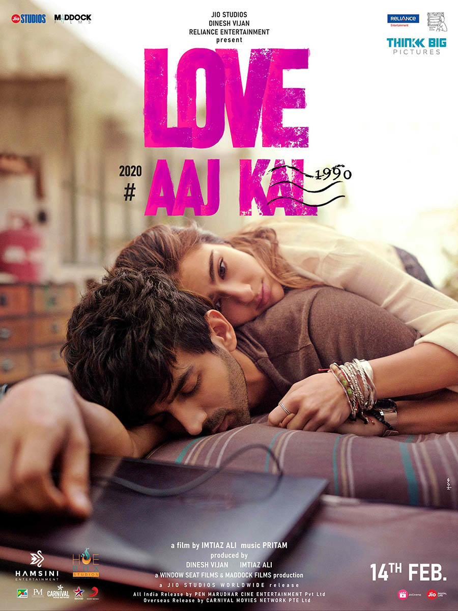 Love Aaj Kal poster art