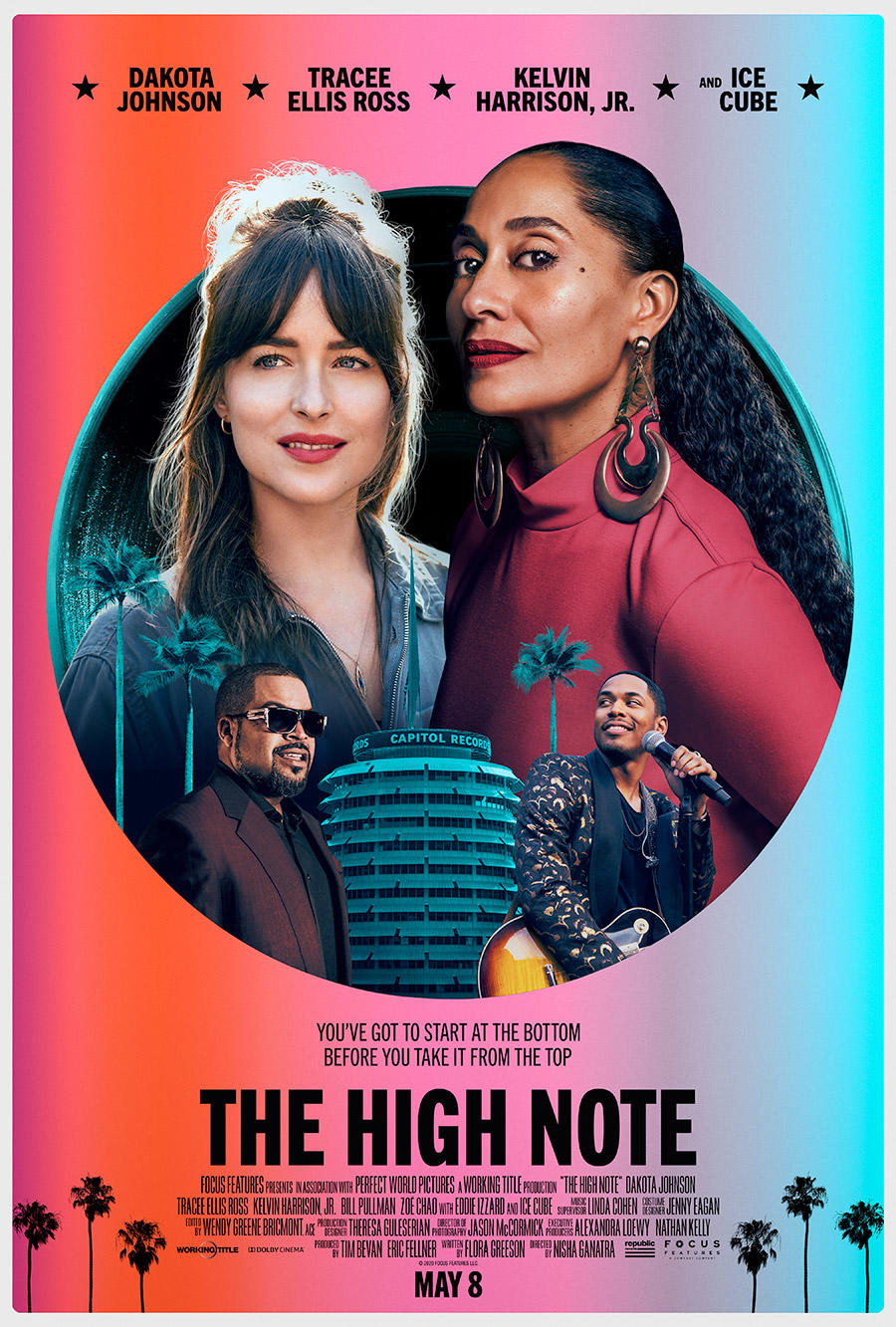The High Note poster art