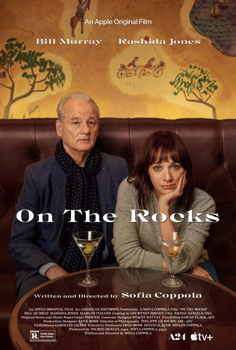On the Rocks poster art