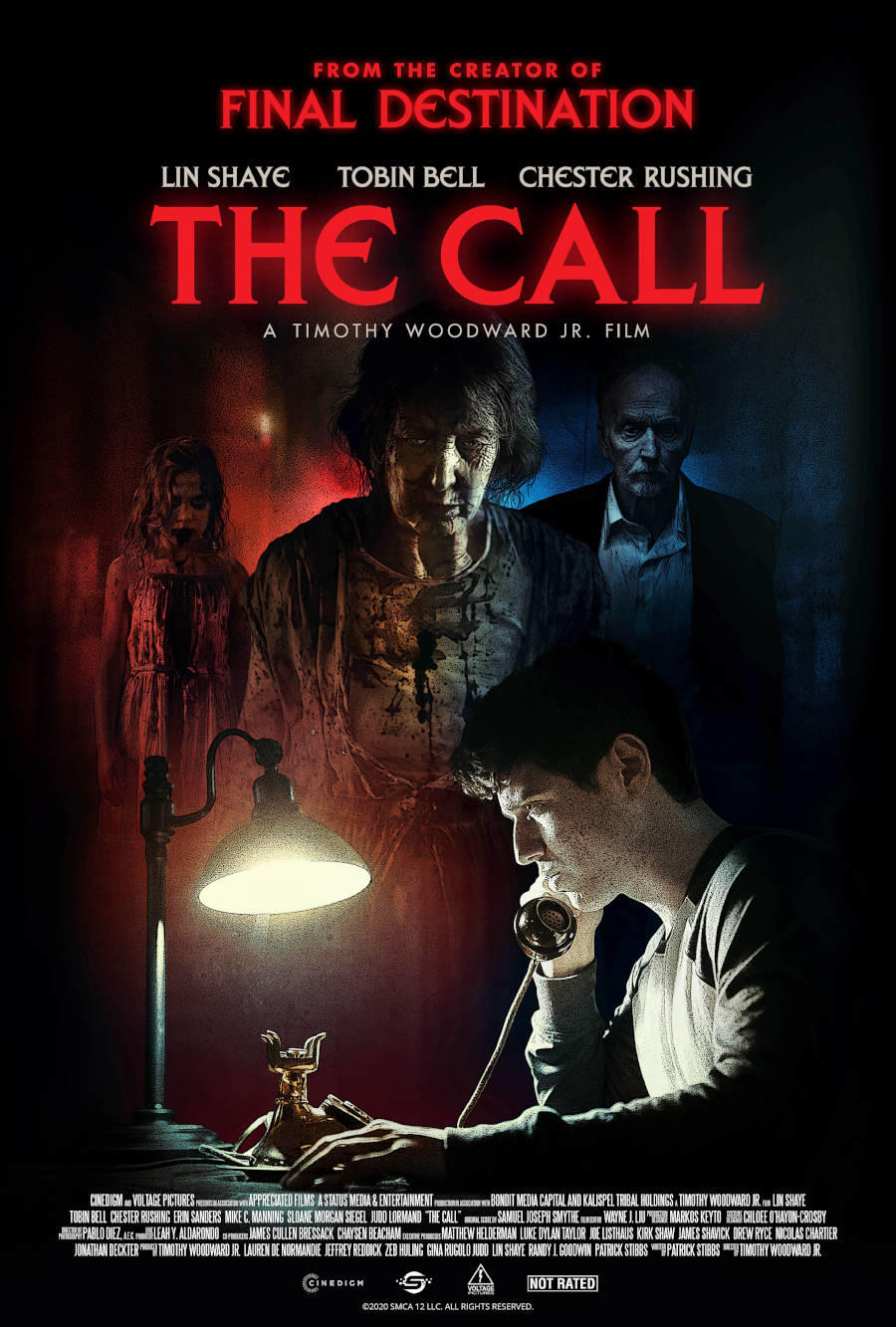 The Call poster art