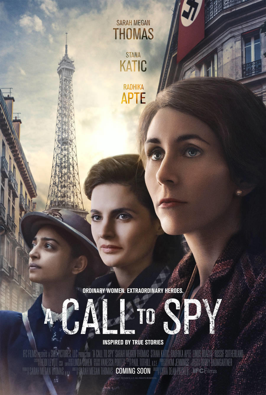 A Call to Spy poster art