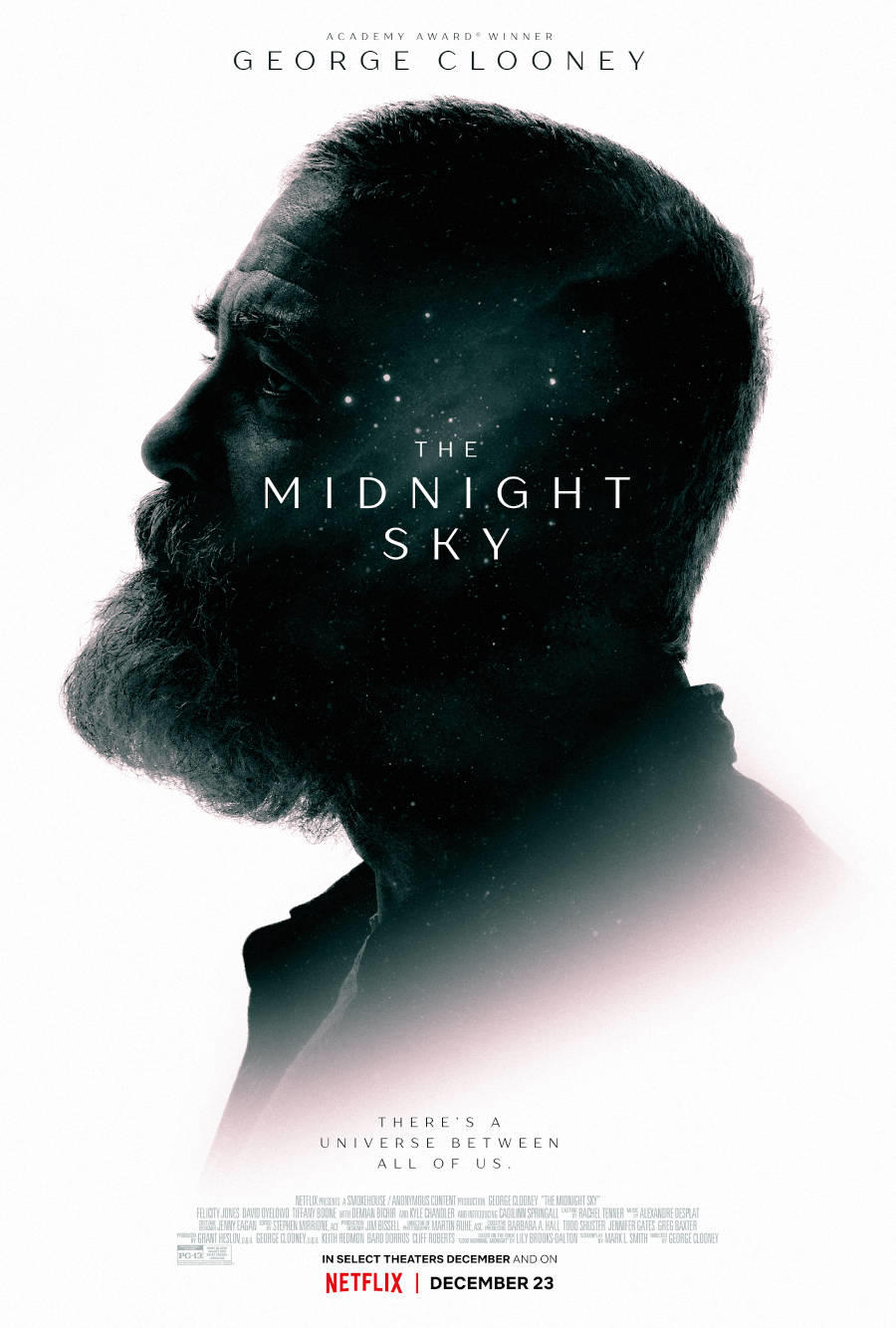 The Midnight Sky poster art