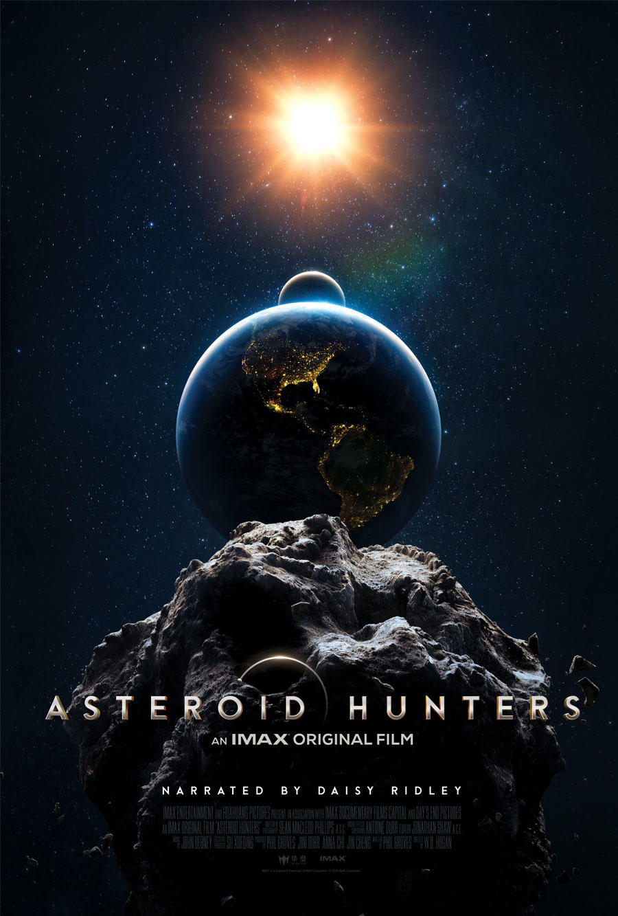 Asteroid Hunters poster art