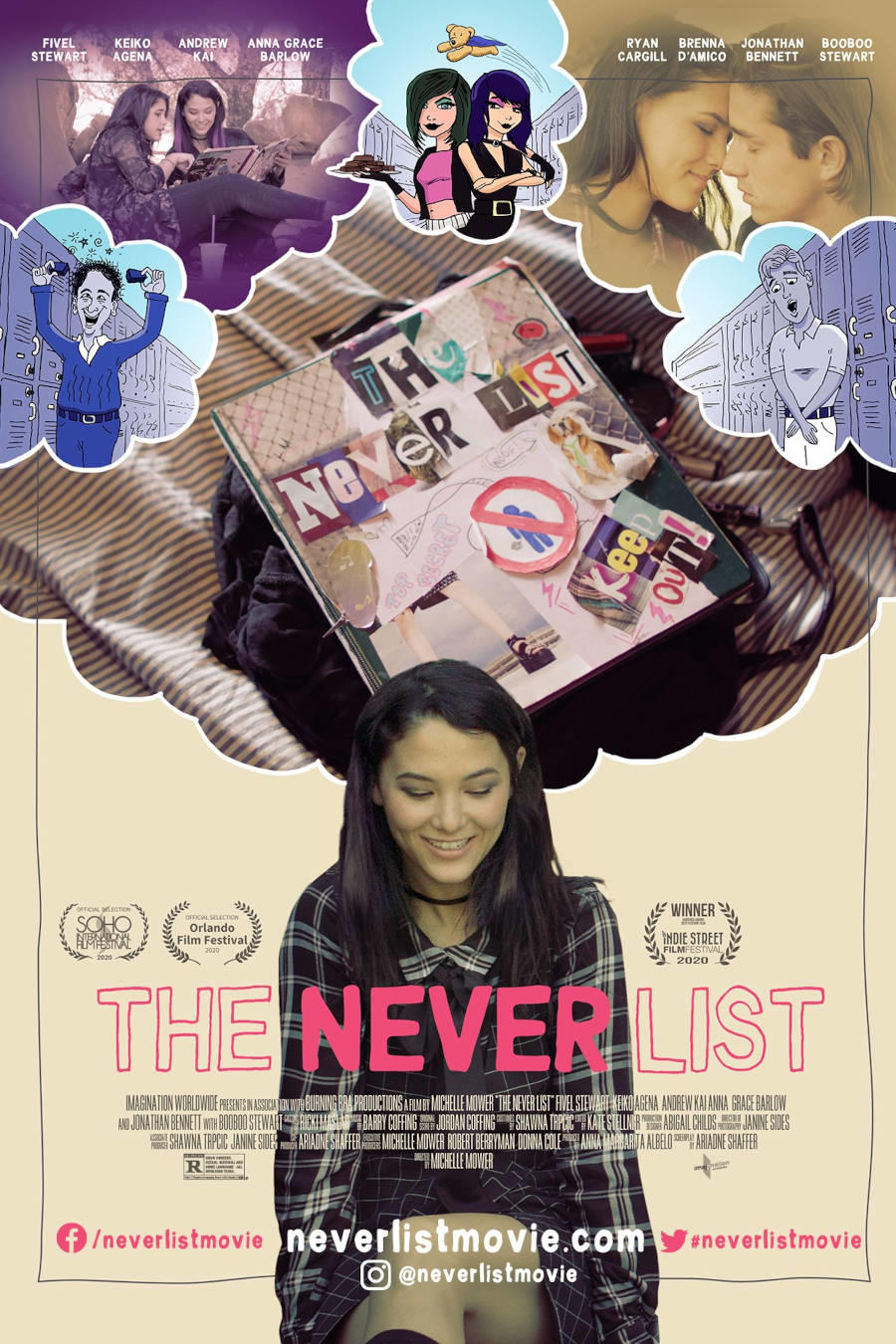 The Never List poster art