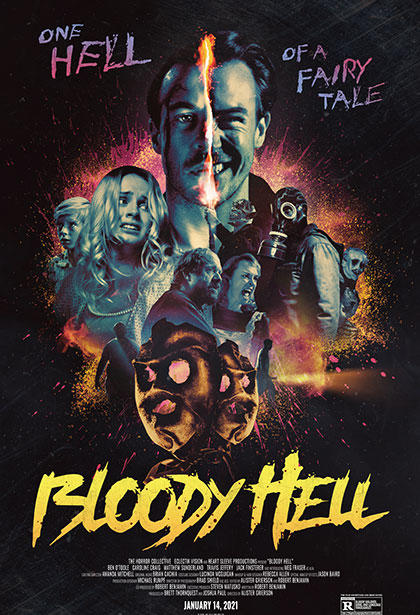 Bloody Hell poster art