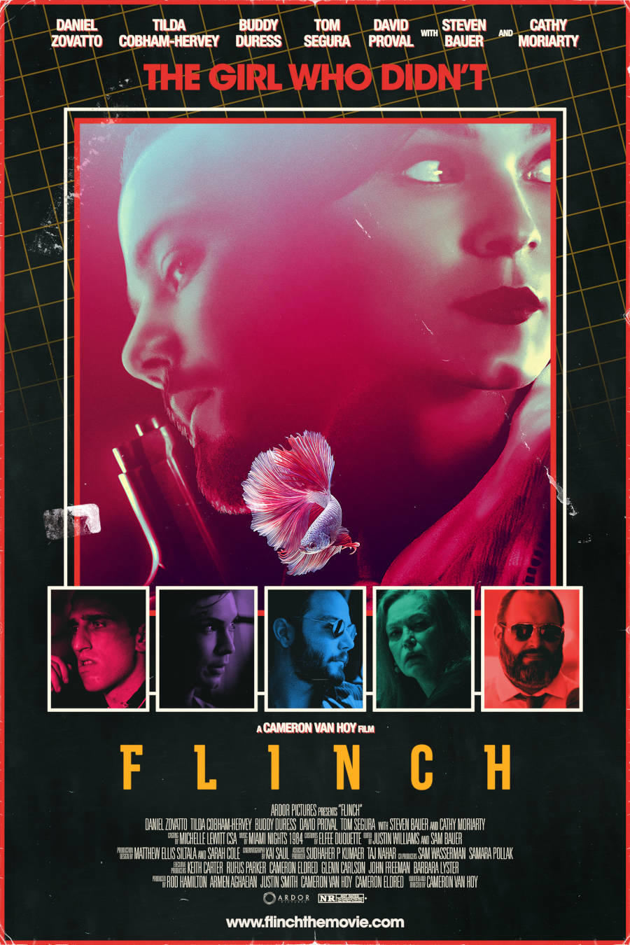 Flinch poster art