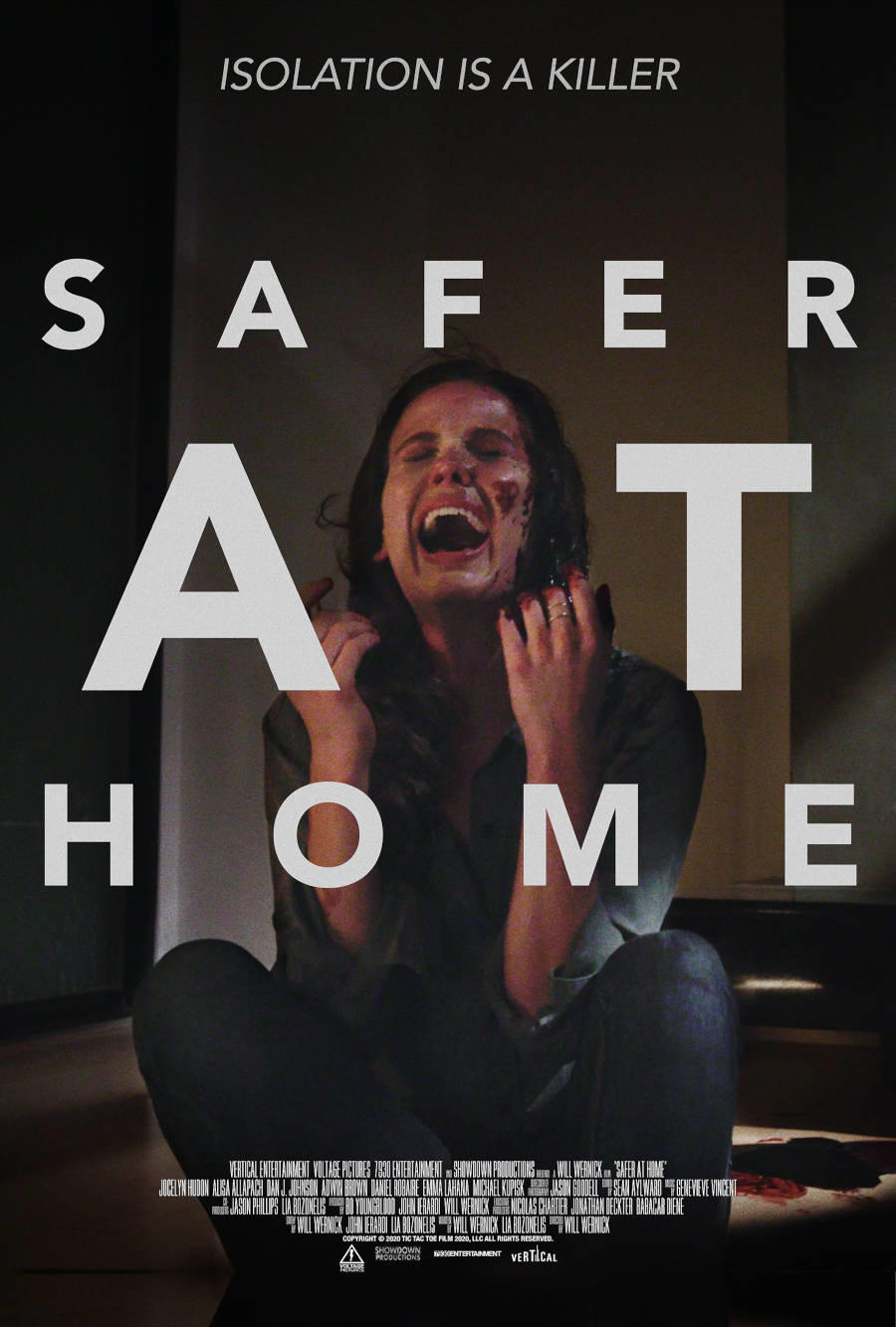 Safer at Home poster art