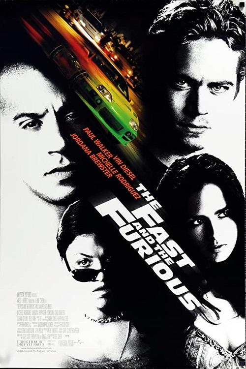 The Fast and the Furious poster art