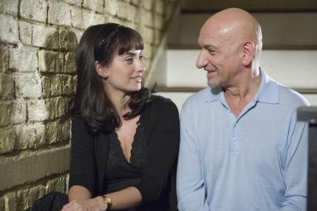 Penelope Cruz as Consuela Castillo and Ben Kingsley as David Kepesh in