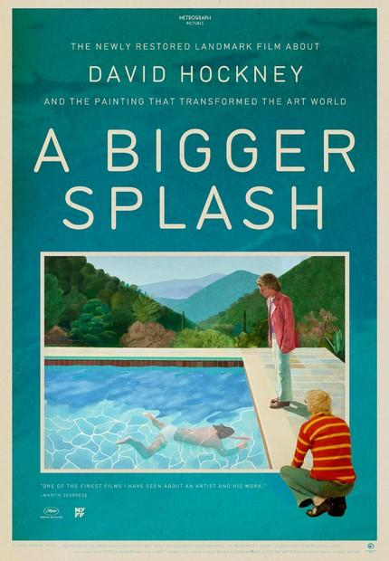 A Bigger Splash poster art