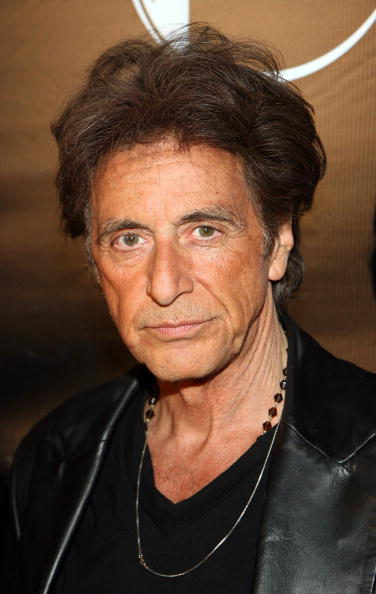 Actor Al Pacino at the Las Vegas premiere of