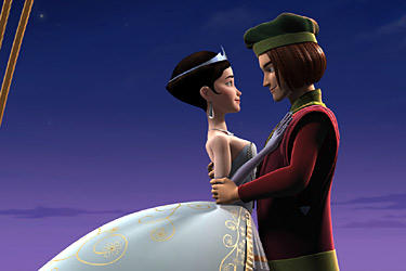Ella (voiced by Sarah Michelle Gellar) and Rick (voiced by Freddie Prinze, Jr.) in