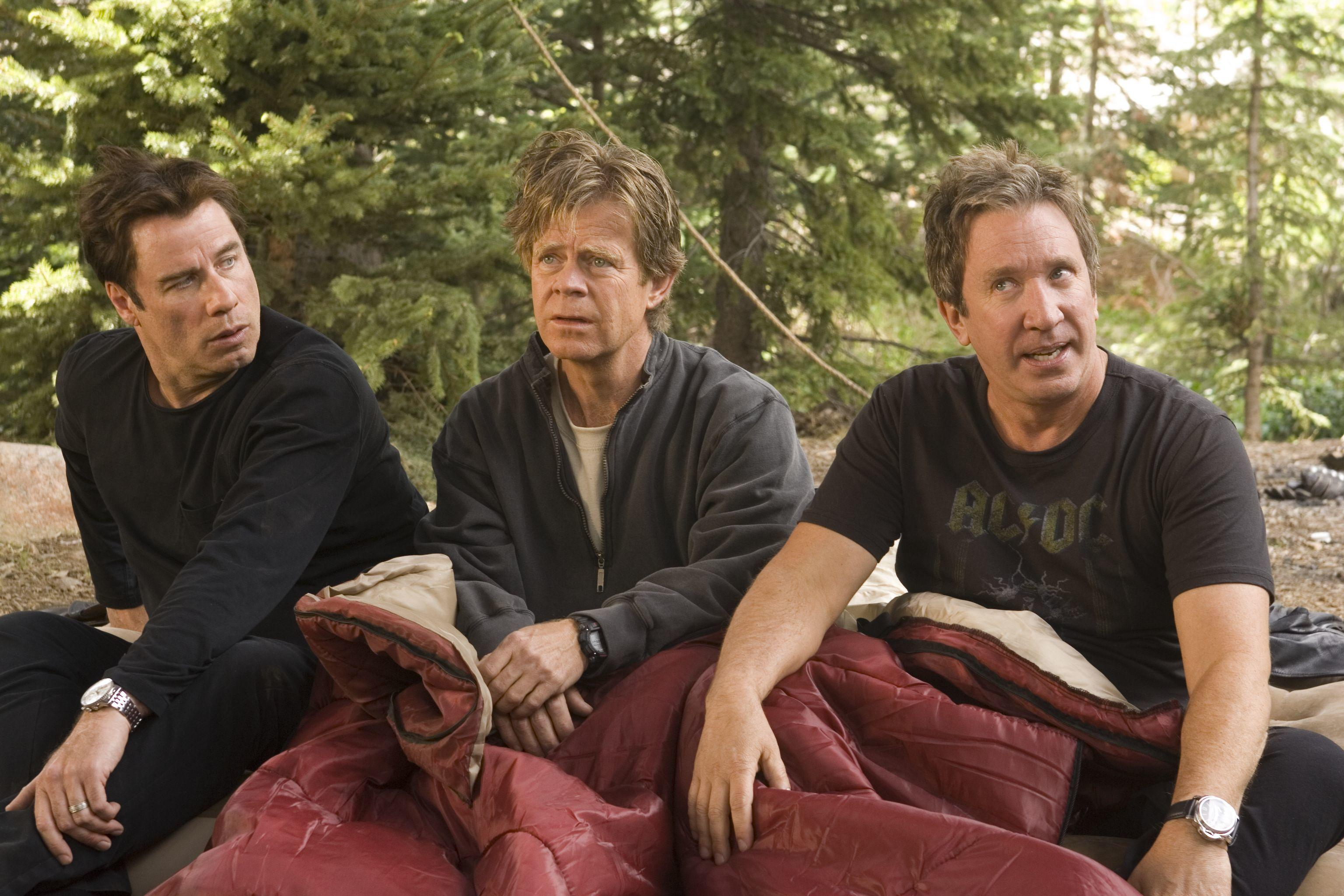 John Travolta, William H. Macy and Tim Allen in