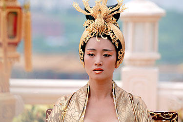 Gong Li as the Empress in