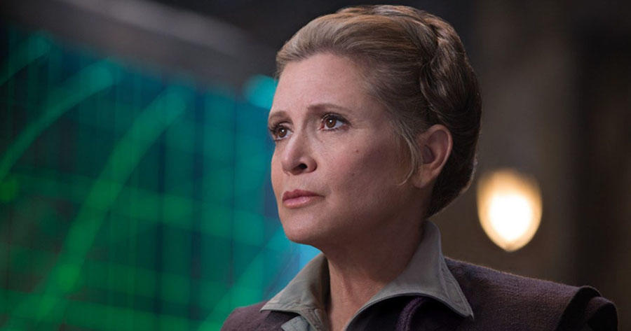 General Leia Organa Carrie Fisher