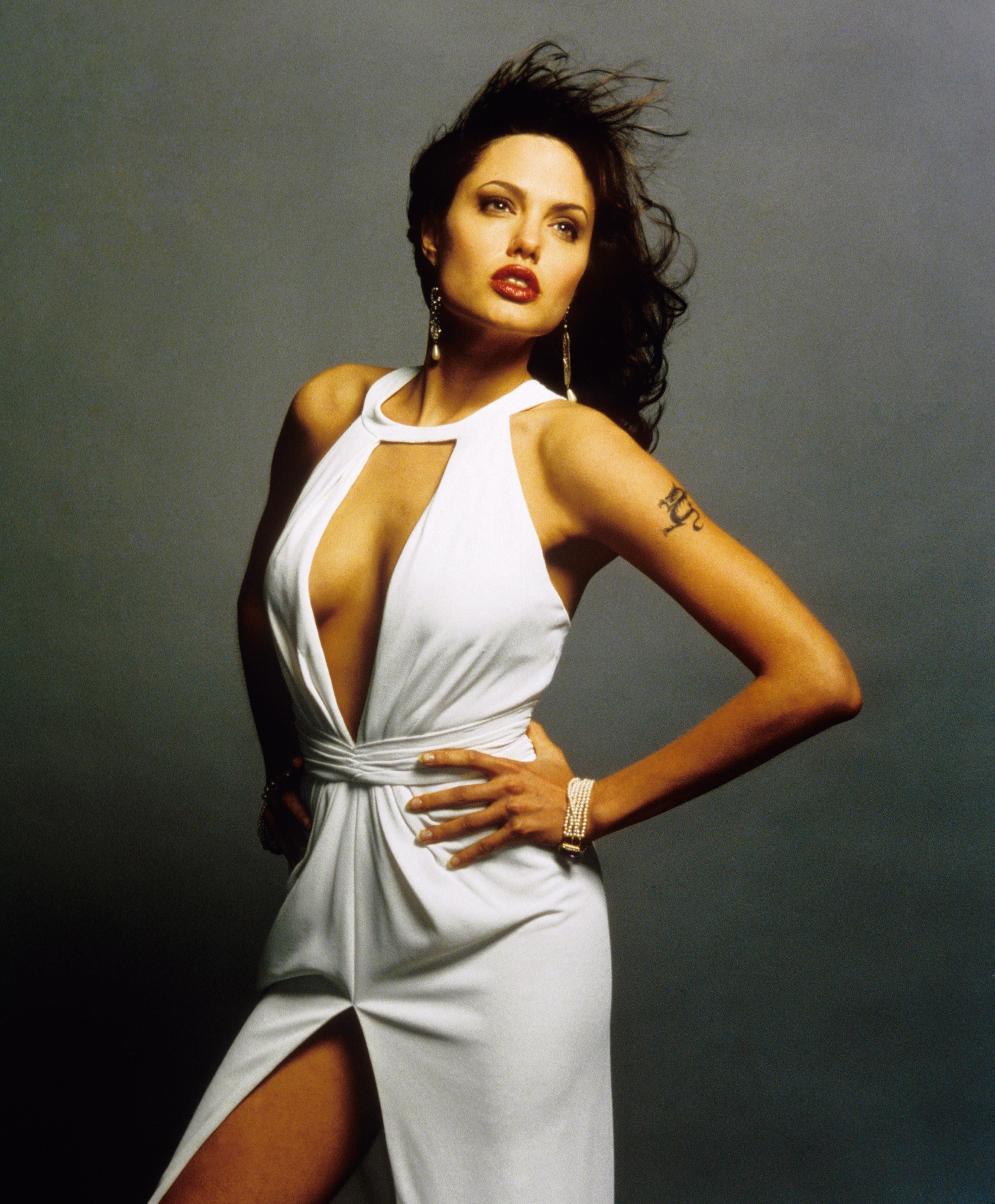 Angelina Jolie Original Sin the many looks of angelina jolie | fandango
