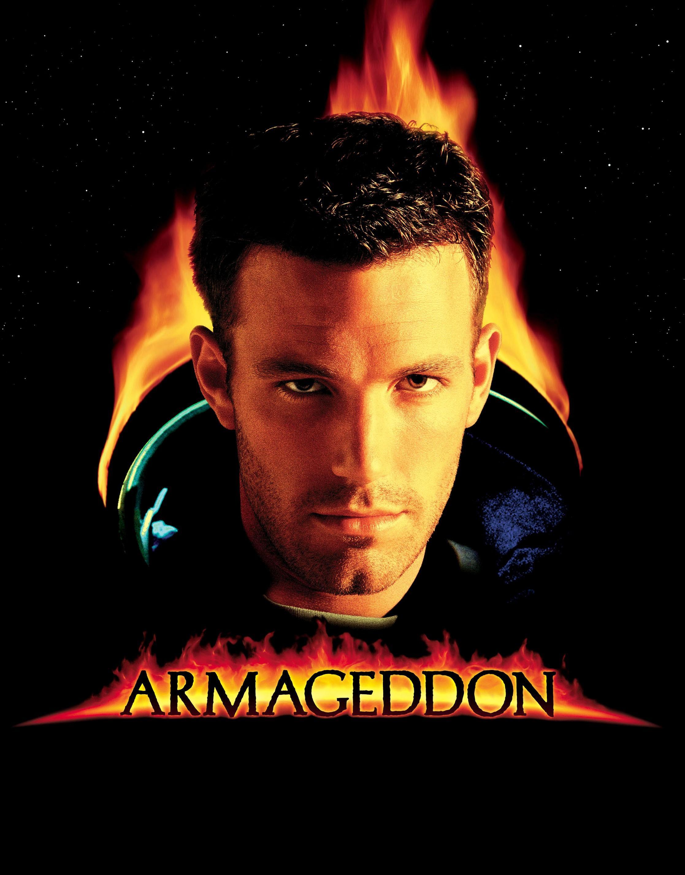 armageddon movie poster - 792×1000
